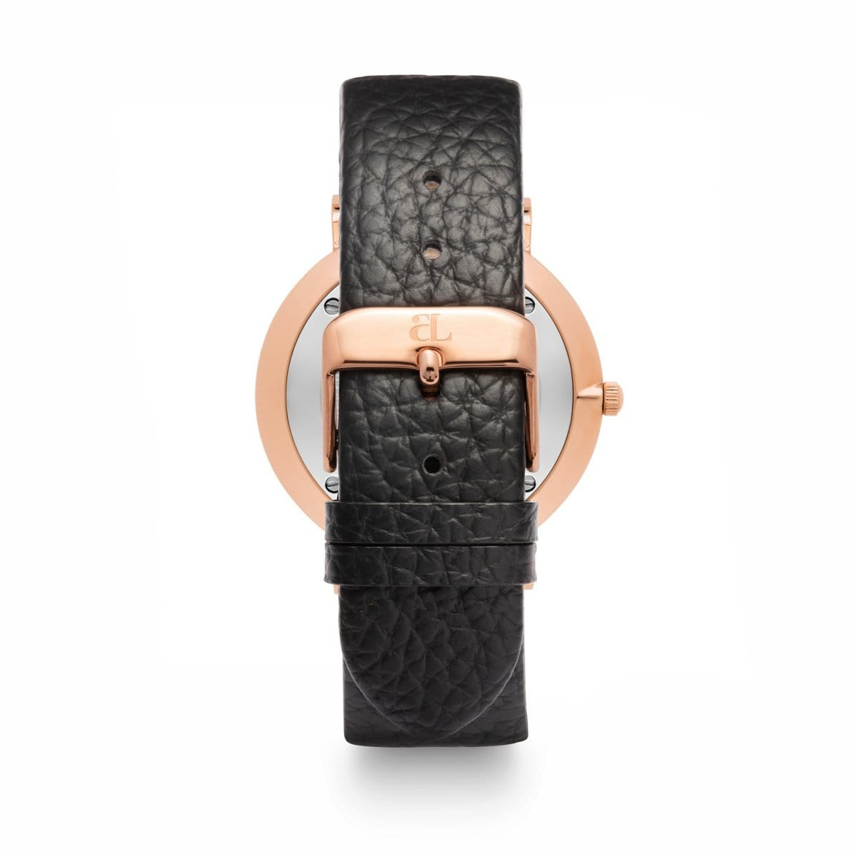 Jet Black 40 Strap Rose Gold