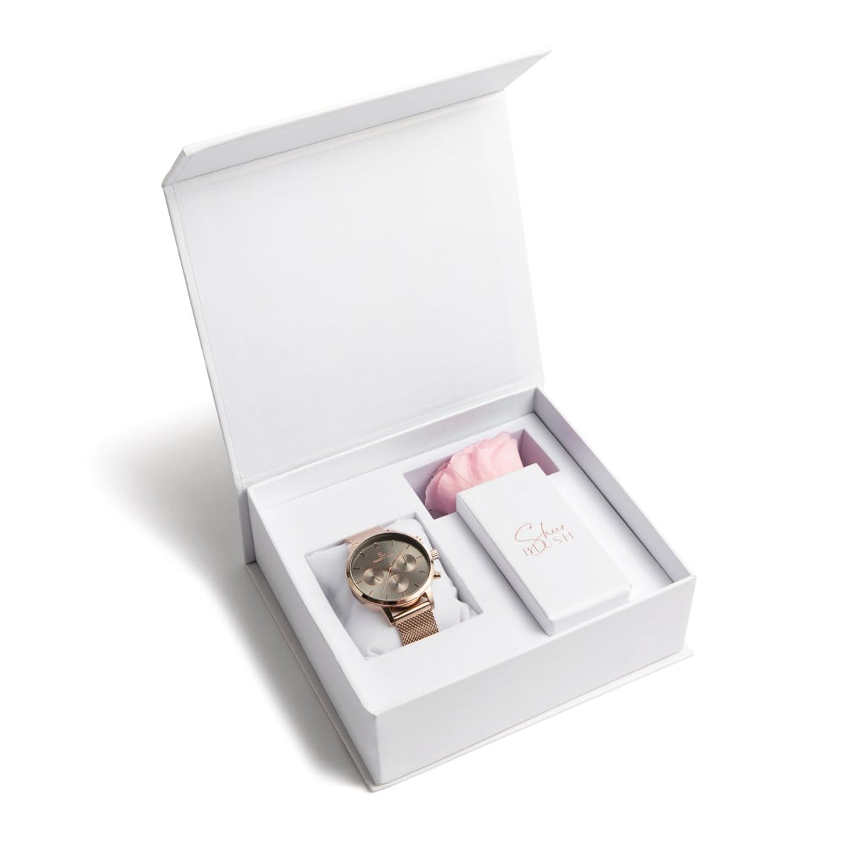 The Taupe Eternal Rose Gift Set (Blush)