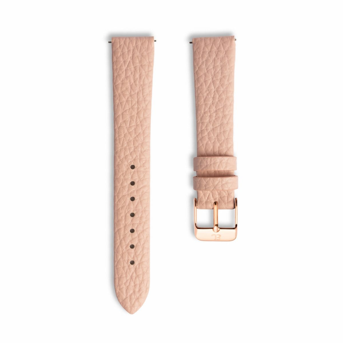 Blush Pink 34 Strap Rose Gold
