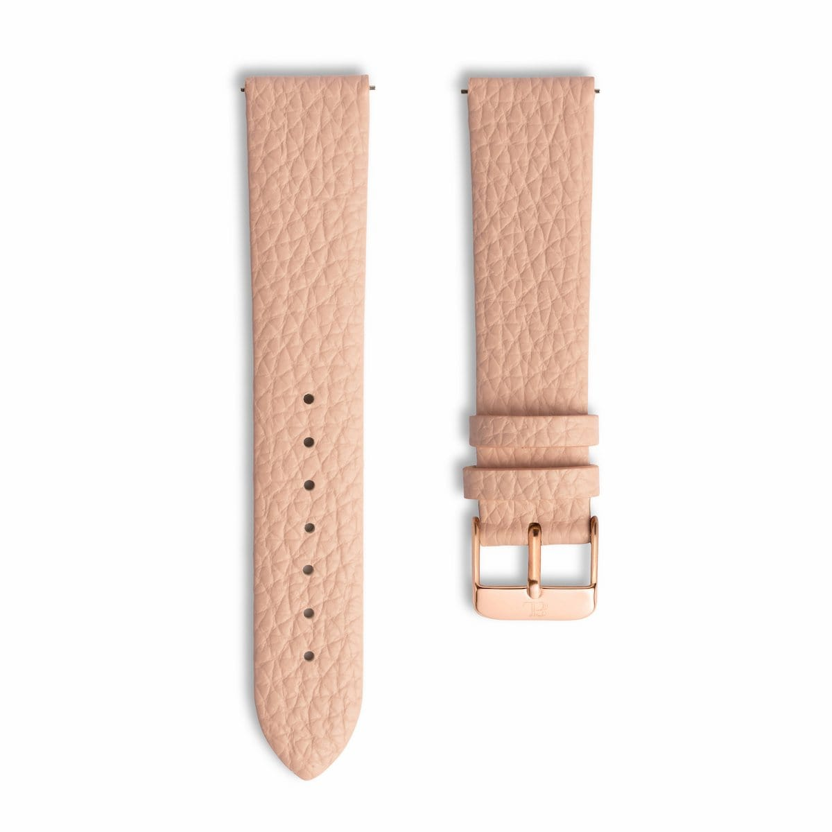 Blush Pink 40 Strap Rose Gold