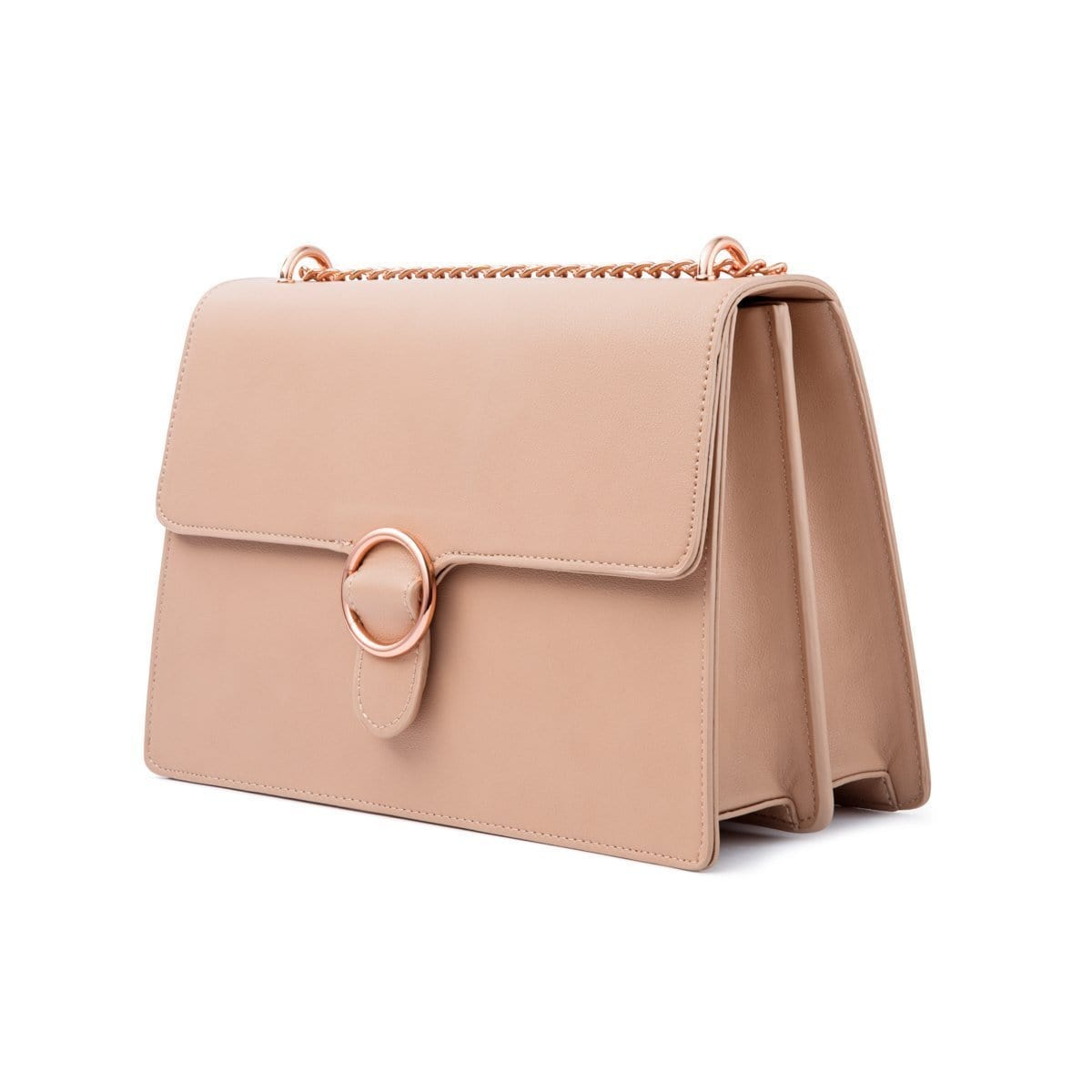 Mara Shoulder Bag (Desert Taupe Rose Gold)  271ec3fa4ea16
