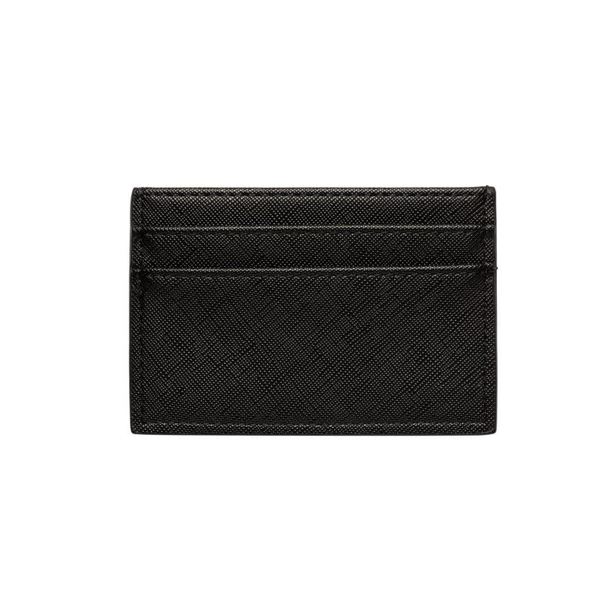 Jet Black Clea Card Holder