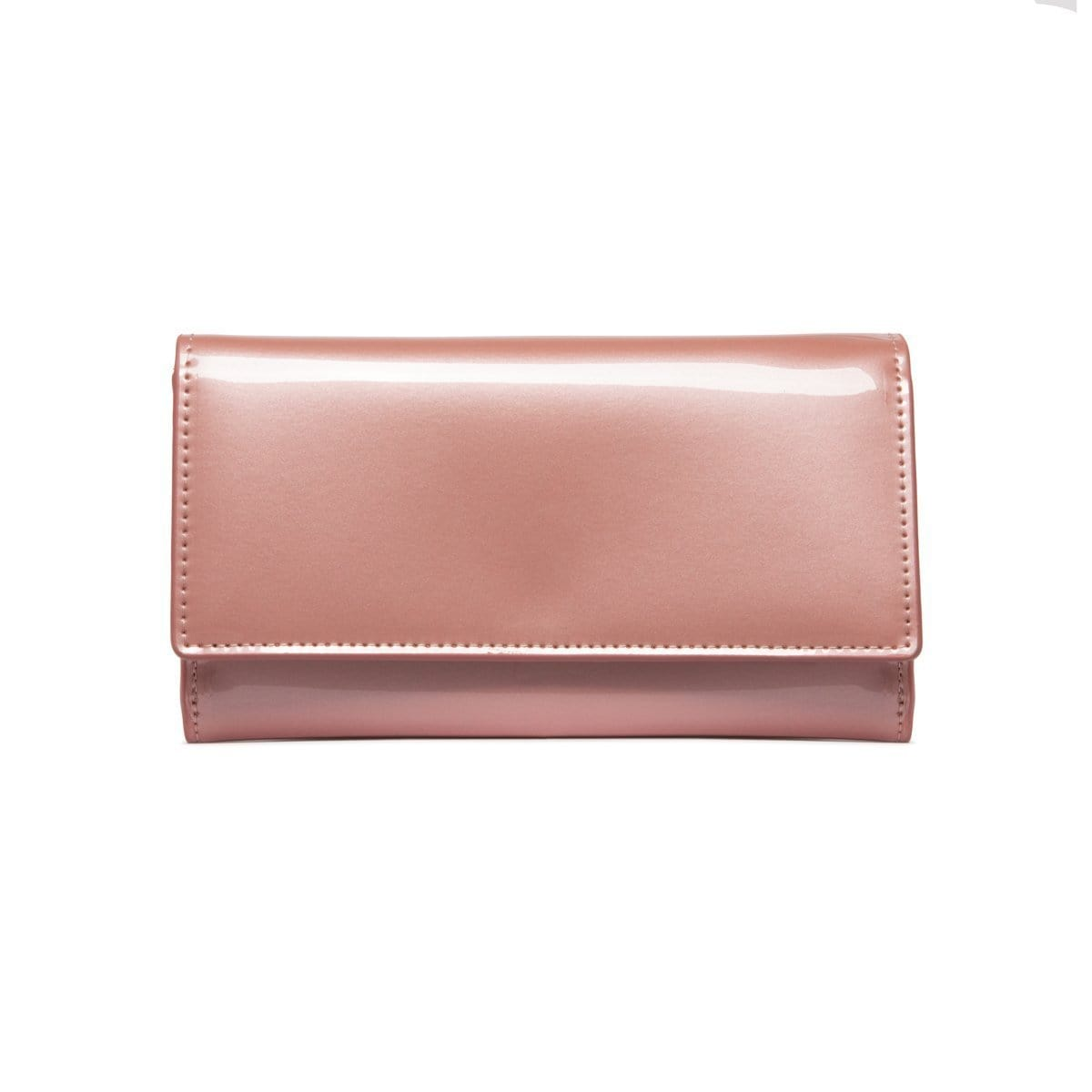 Dusky Pink Patent Bella Wallet (PERSONALISE ME!)
