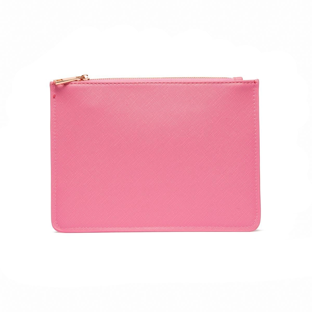 Flamingo Pink Sienna Pouch (PERSONALISE ME!)