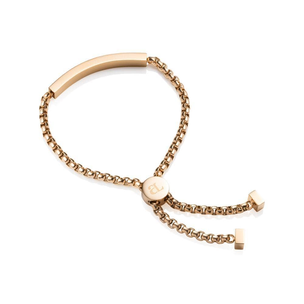 Personalise Chain Bracelet (Gold)