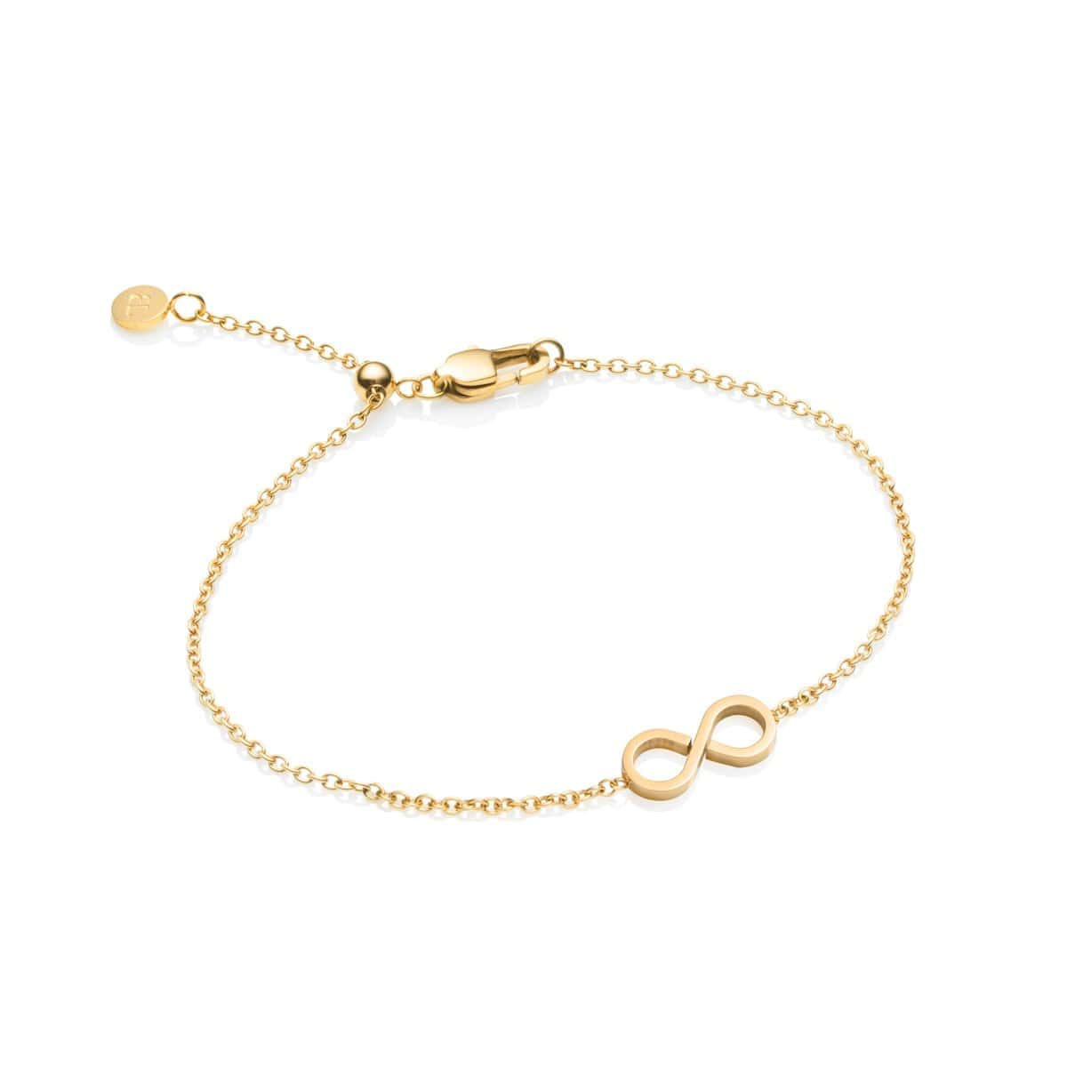Little Luxe Infinity Bracelet (Yellow Gold)