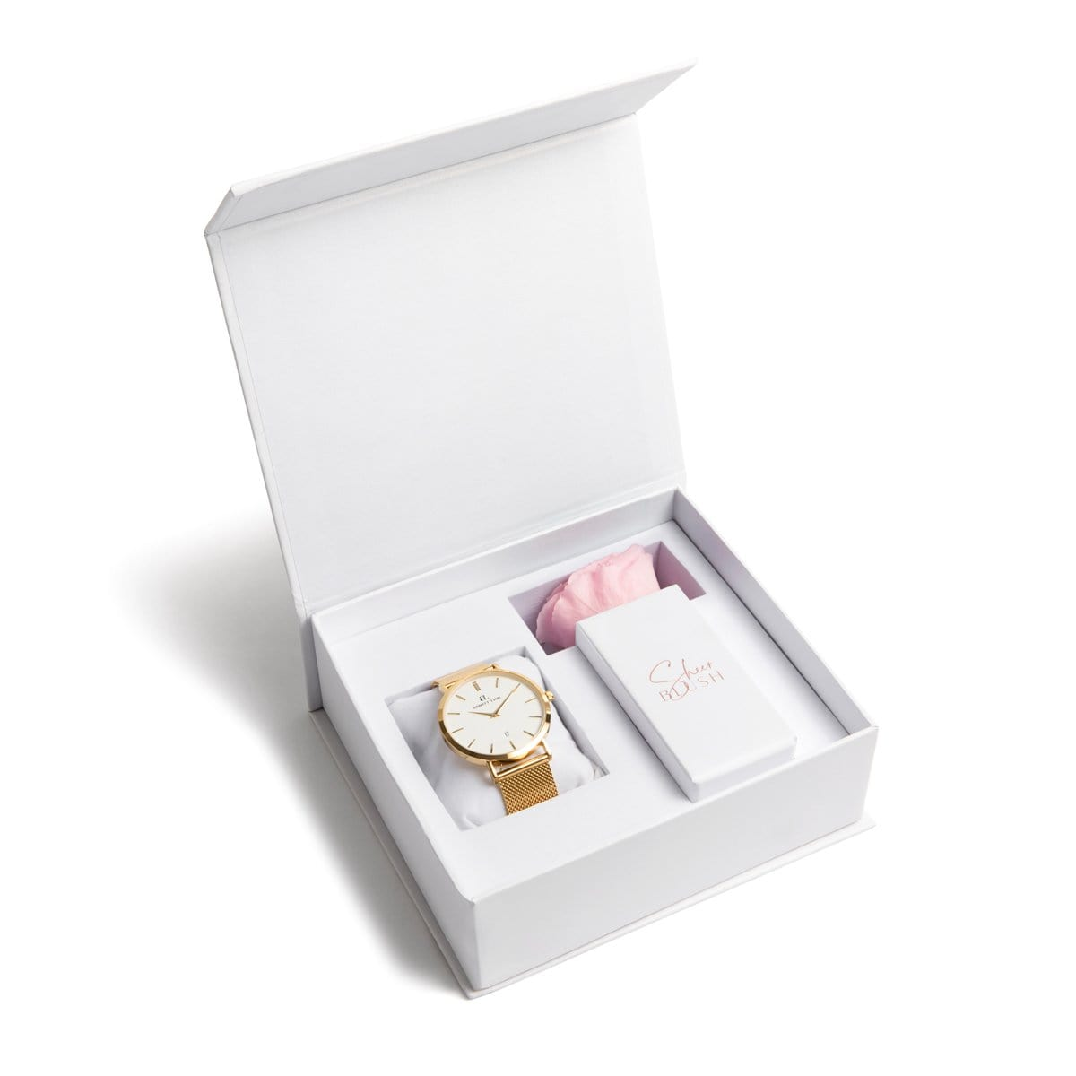 The Gold Eternal Rose Gift Set (Blush)