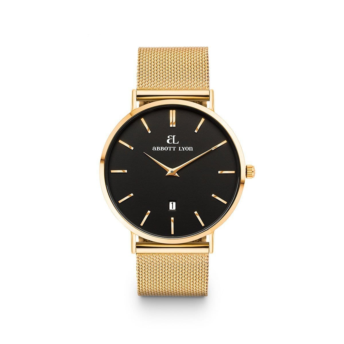 Gold Chain Black Kensington 40