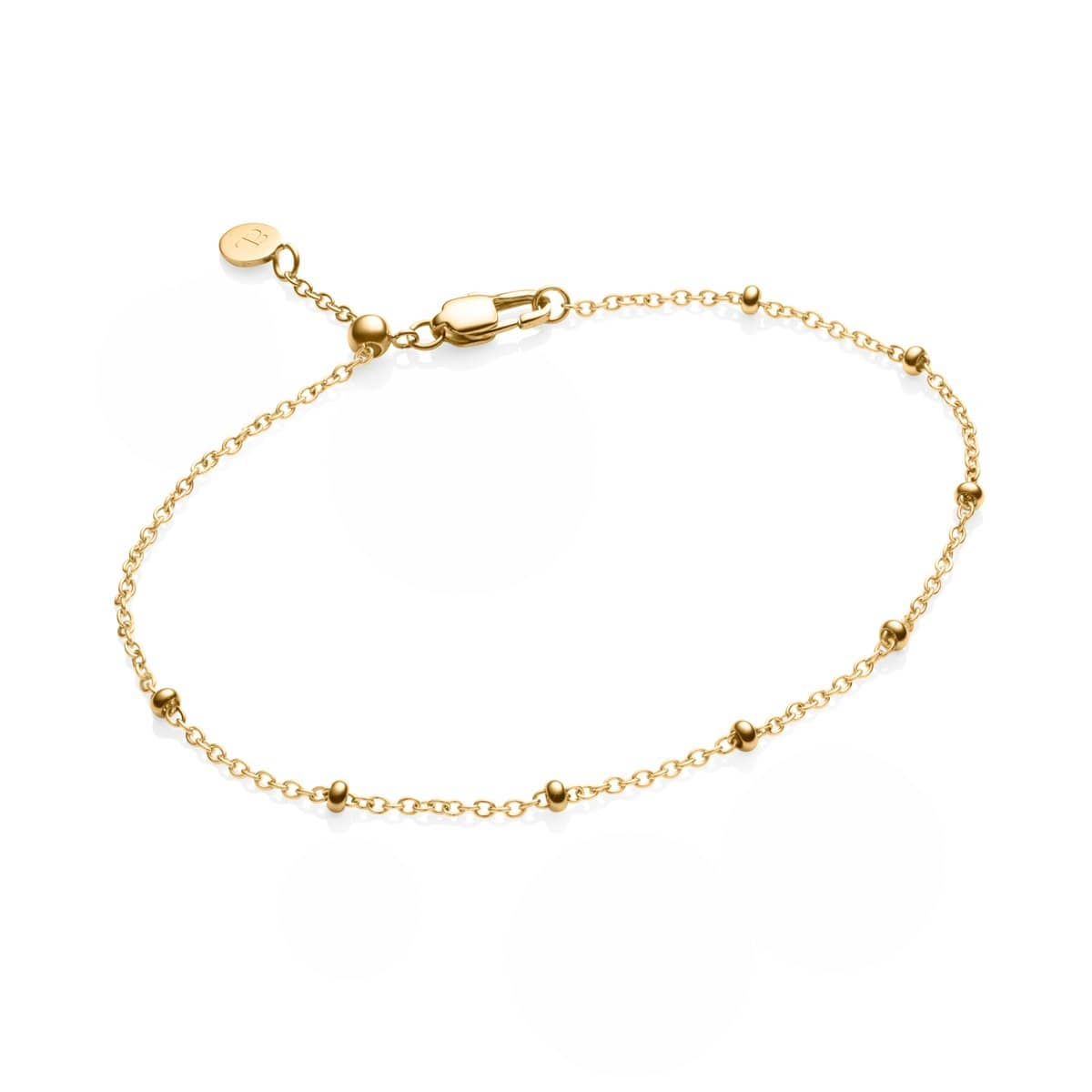 Little Luxe Mini Sphere Bracelet (Yellow Gold)
