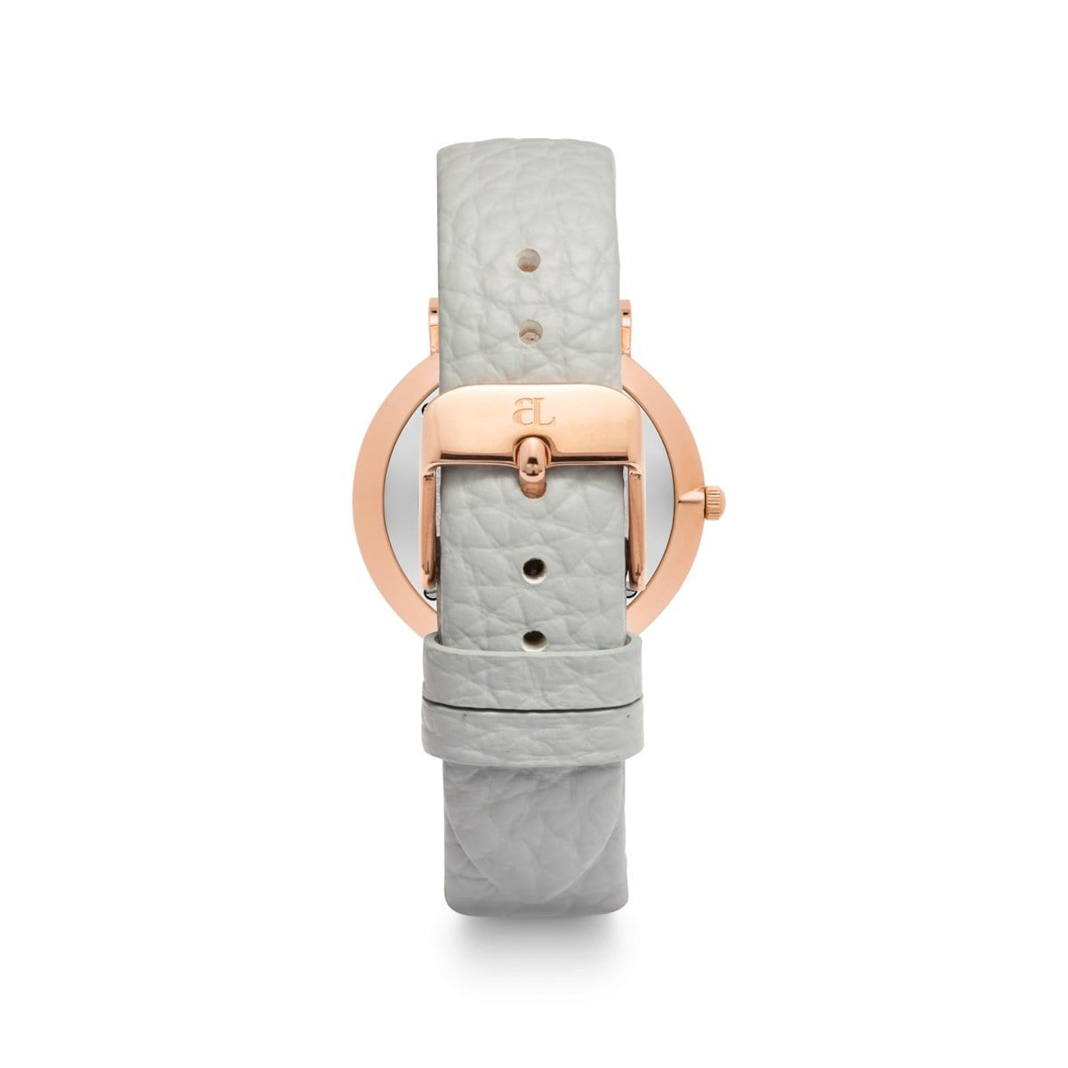 Parma Grey 34 Strap (Rose Gold)