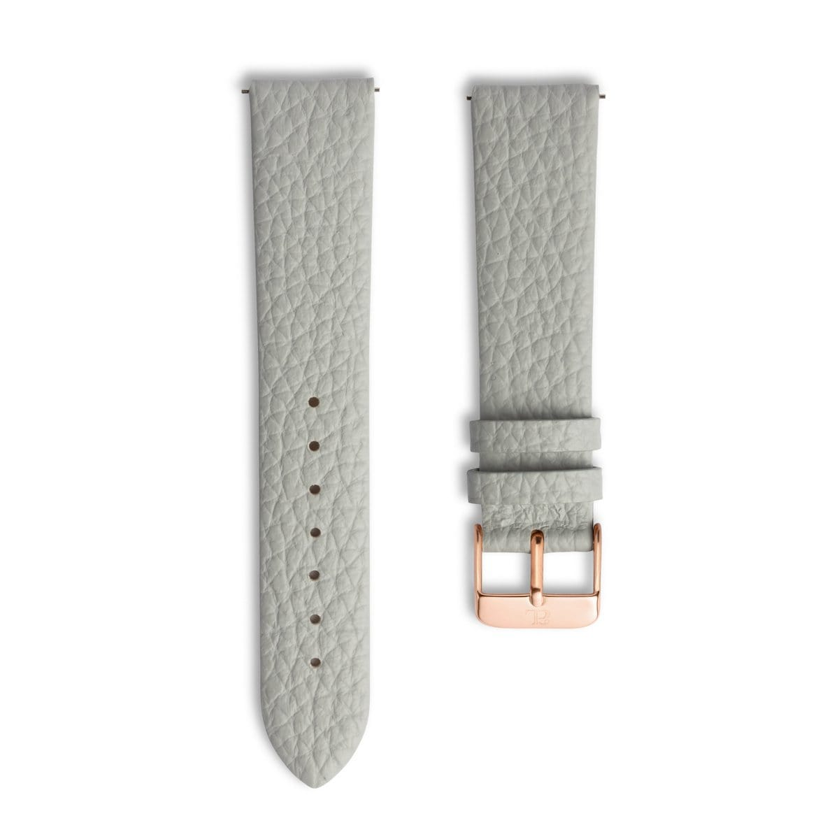 Parma Grey 40 Strap (Rose Gold)