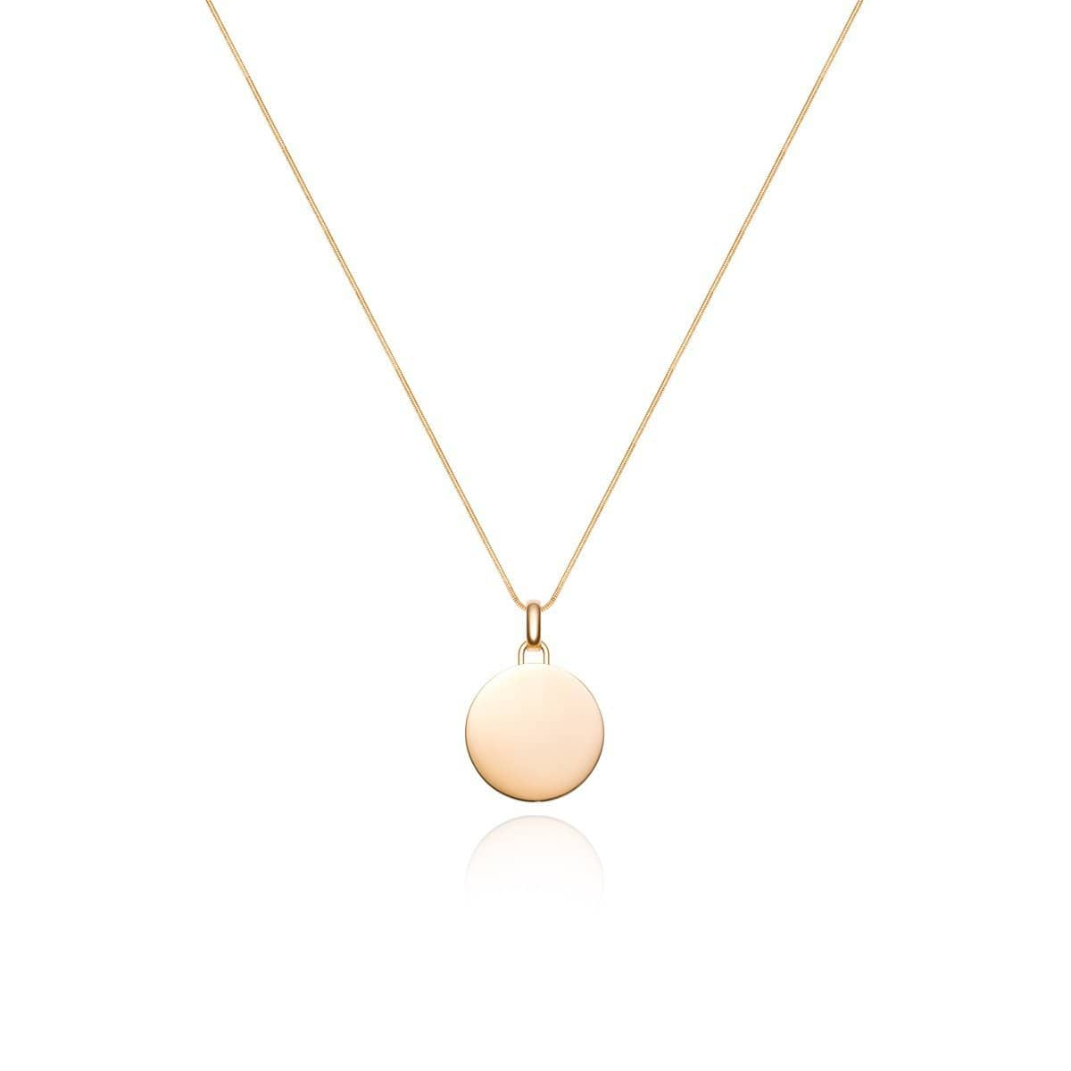 Luna Large Charm Necklace (Gold)