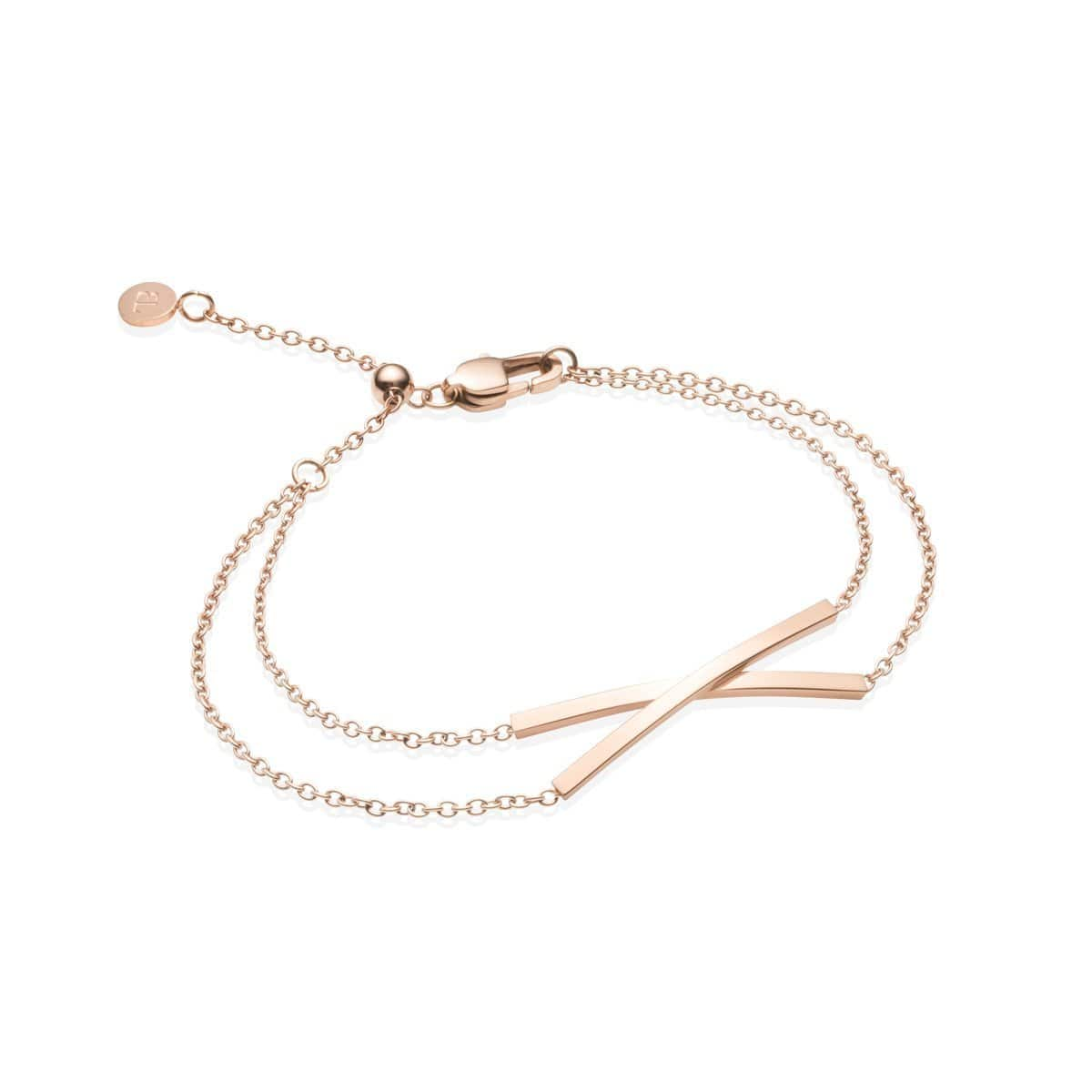 Little Luxe Twist Bracelet (Rose Gold)