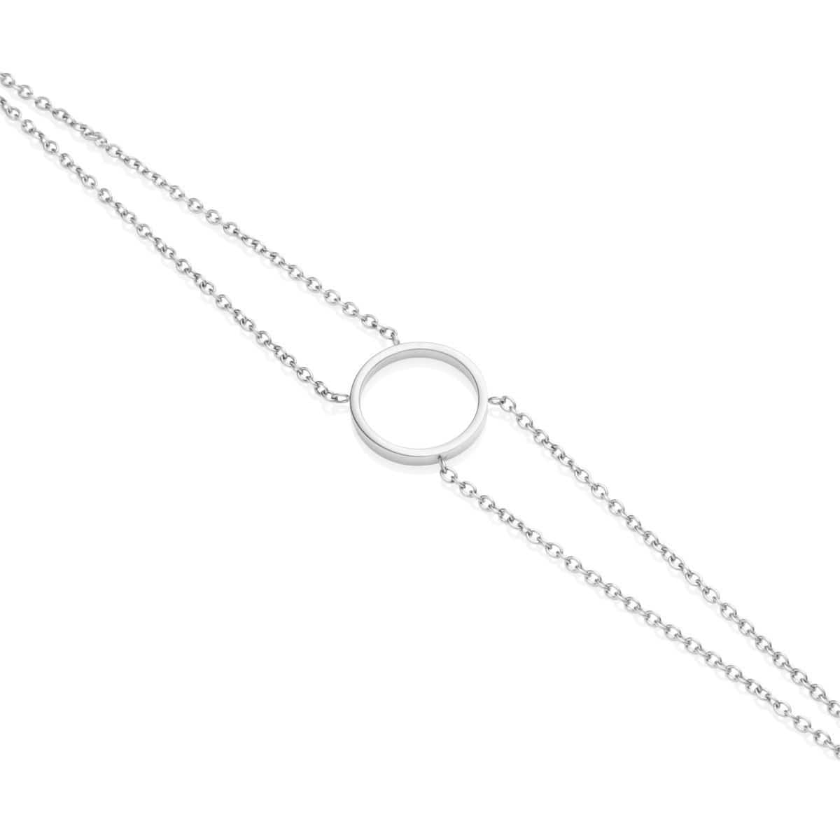 Little Luxe Eclipse Bracelet (Silver)