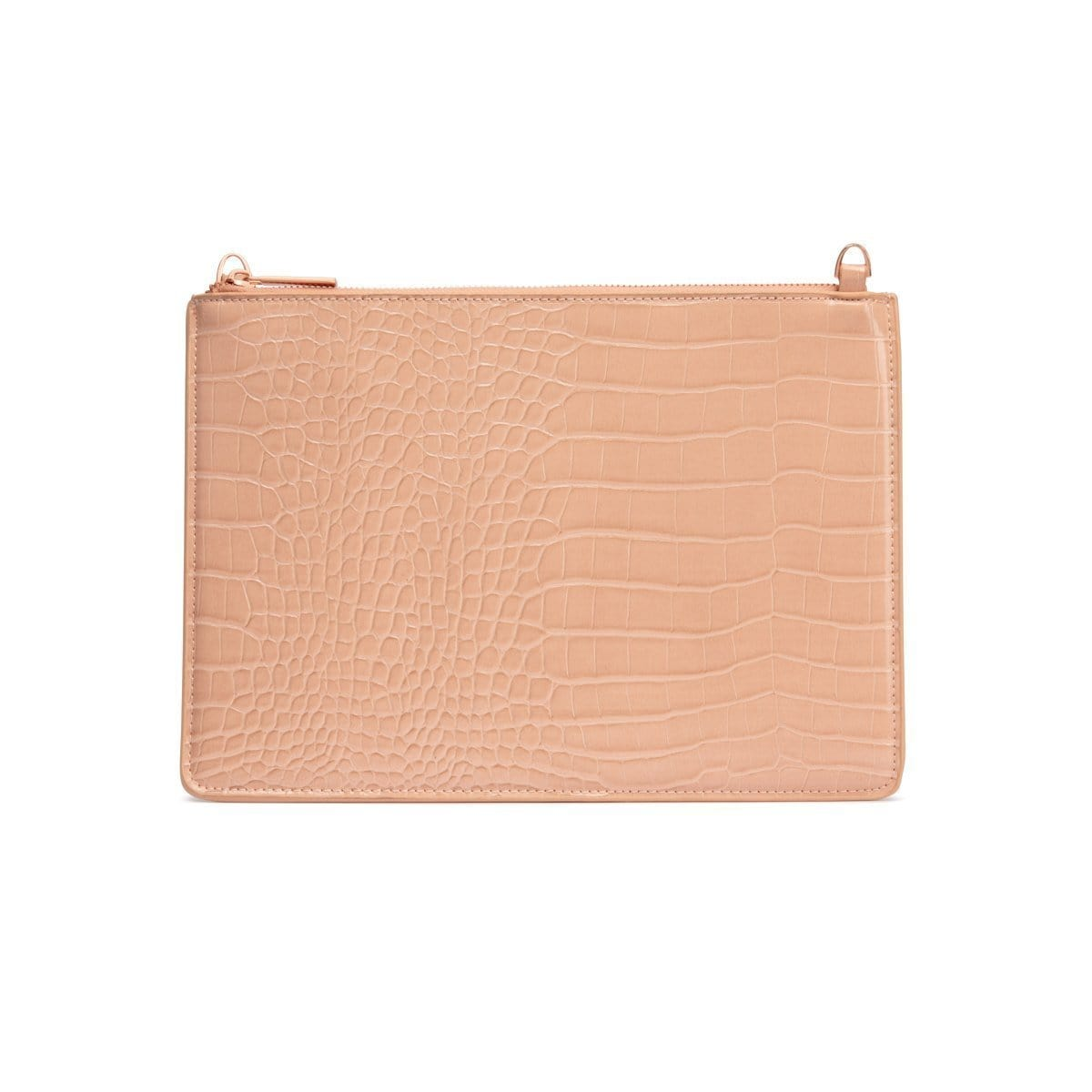 Naomi Clutch Bag (Nude PeachRose Gold)