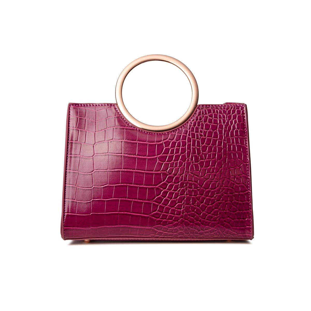 Arora Handle Bag (Sangria/Rose Gold)