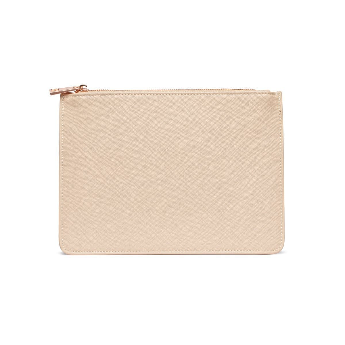 Sand Nude Sienna Pouch (PERSONALISE ME!)