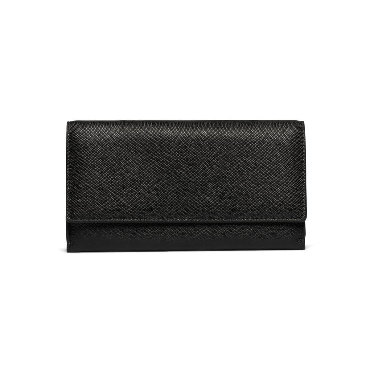 Jet Black Bella Wallet