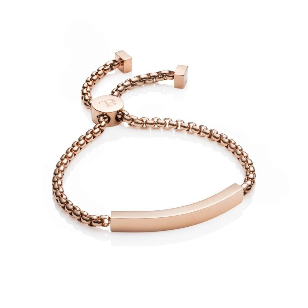 Personalise Chain Bracelet (Rose Gold)