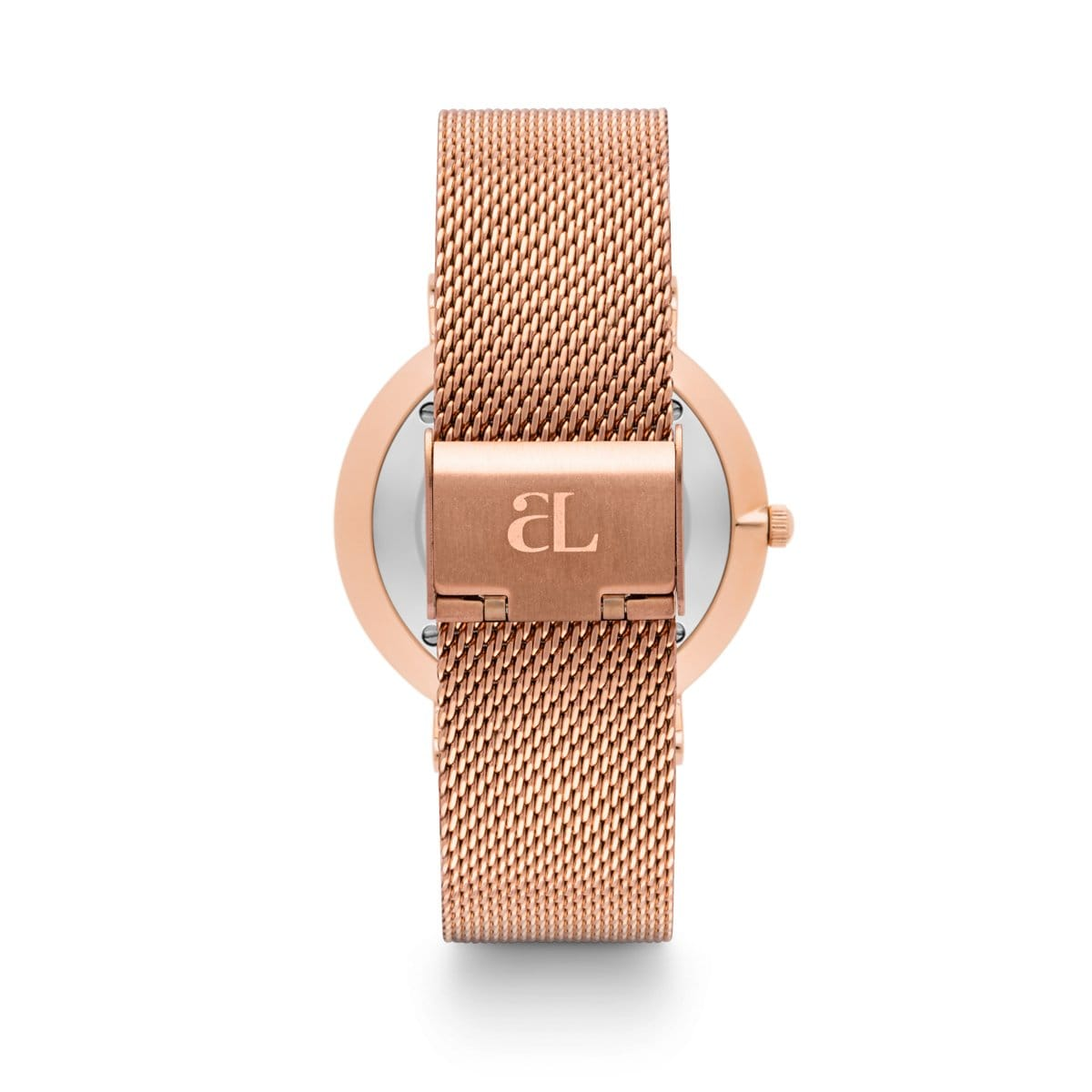 Rose Gold Chain La Ponche 40 (Rose Gold/Black)