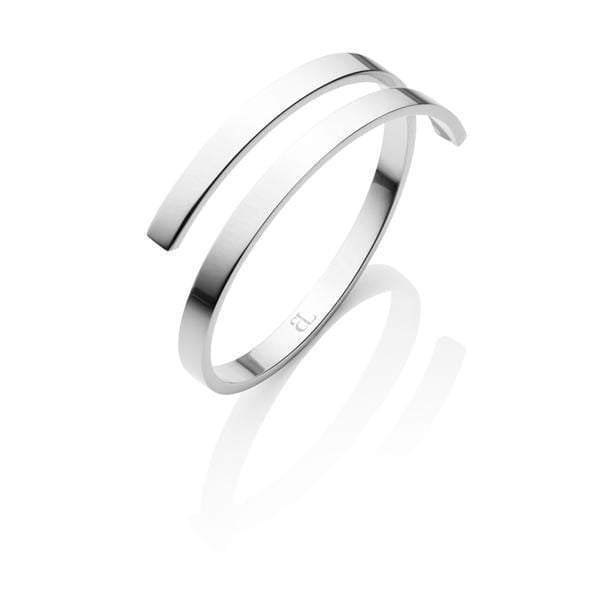 Entwine Bangle (Silver)