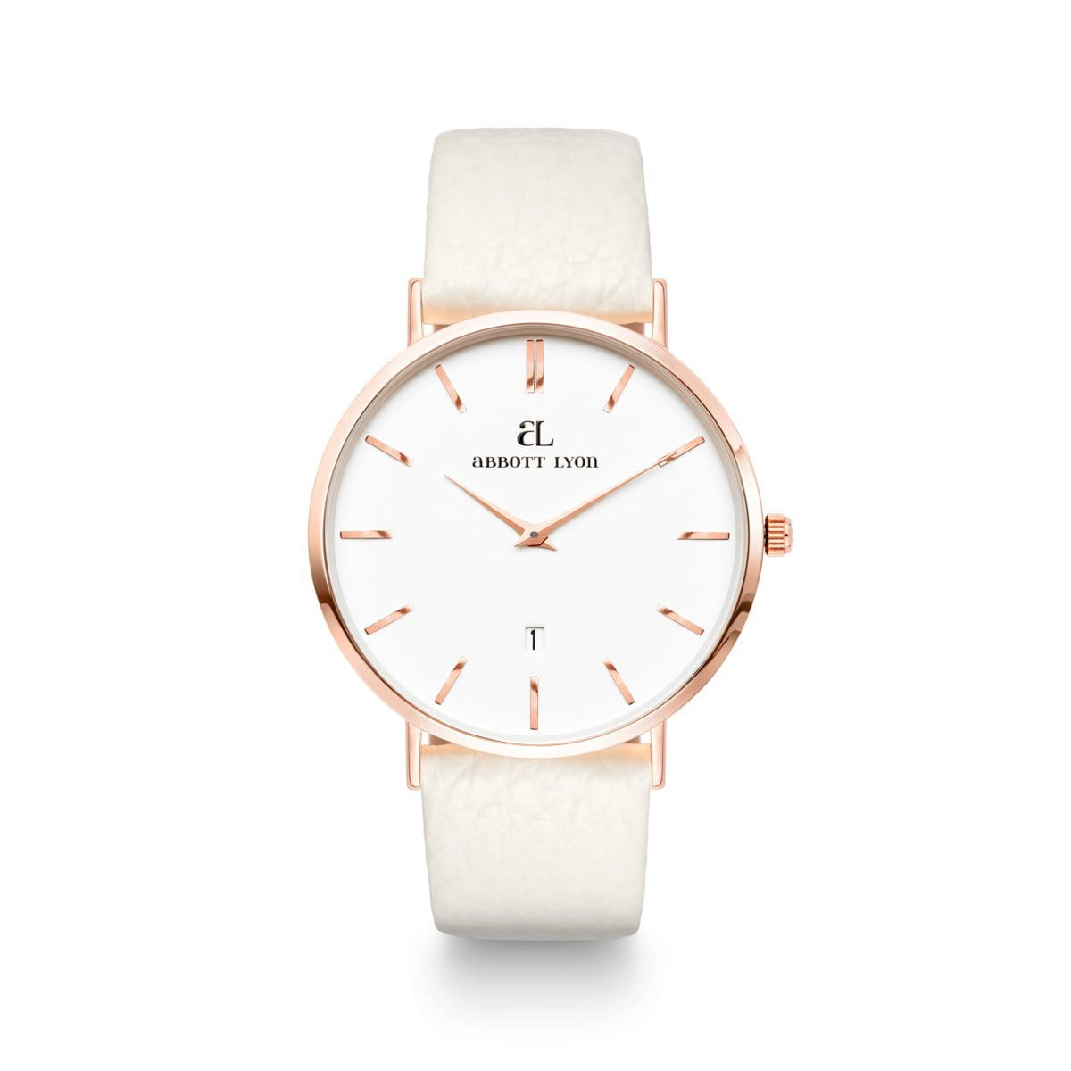 Snow White 40 Strap Rose Gold