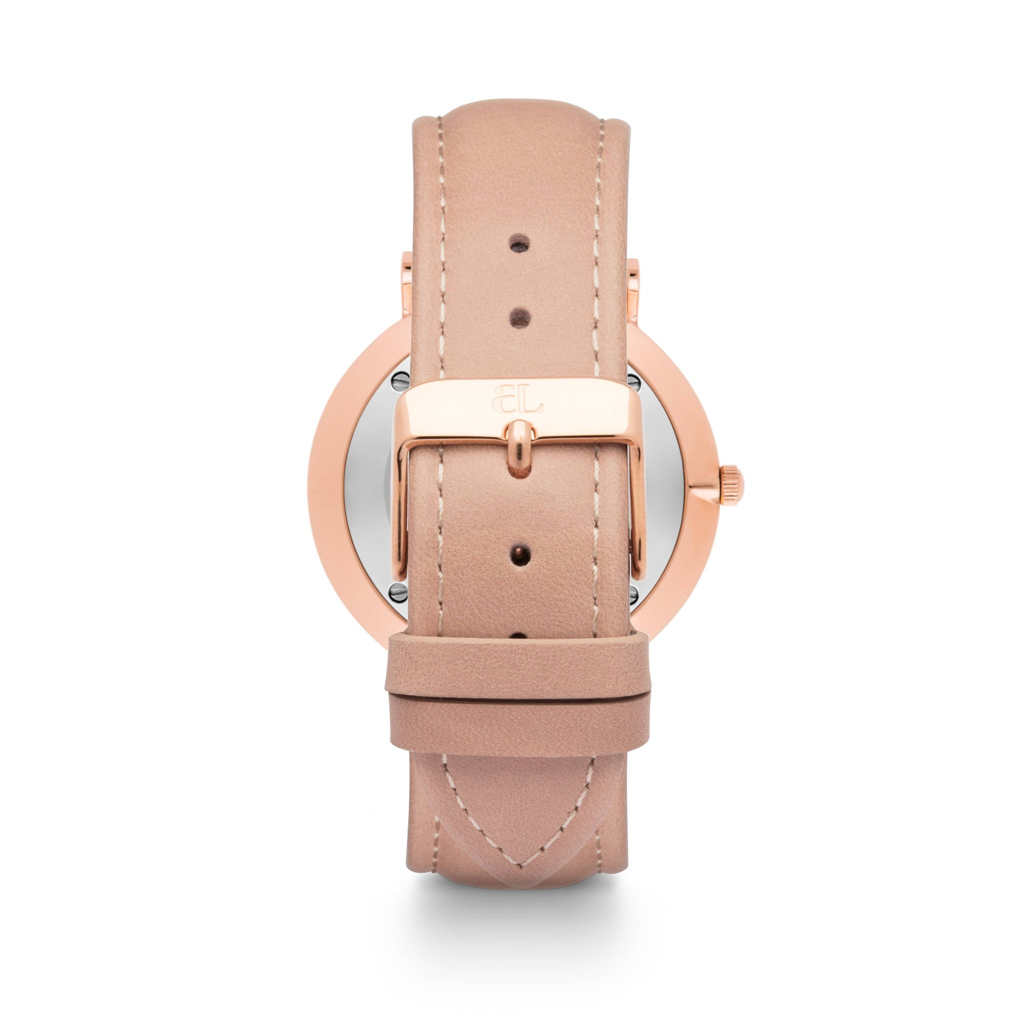 Nude Caramel Leather Kensington 40 (Rose/White)