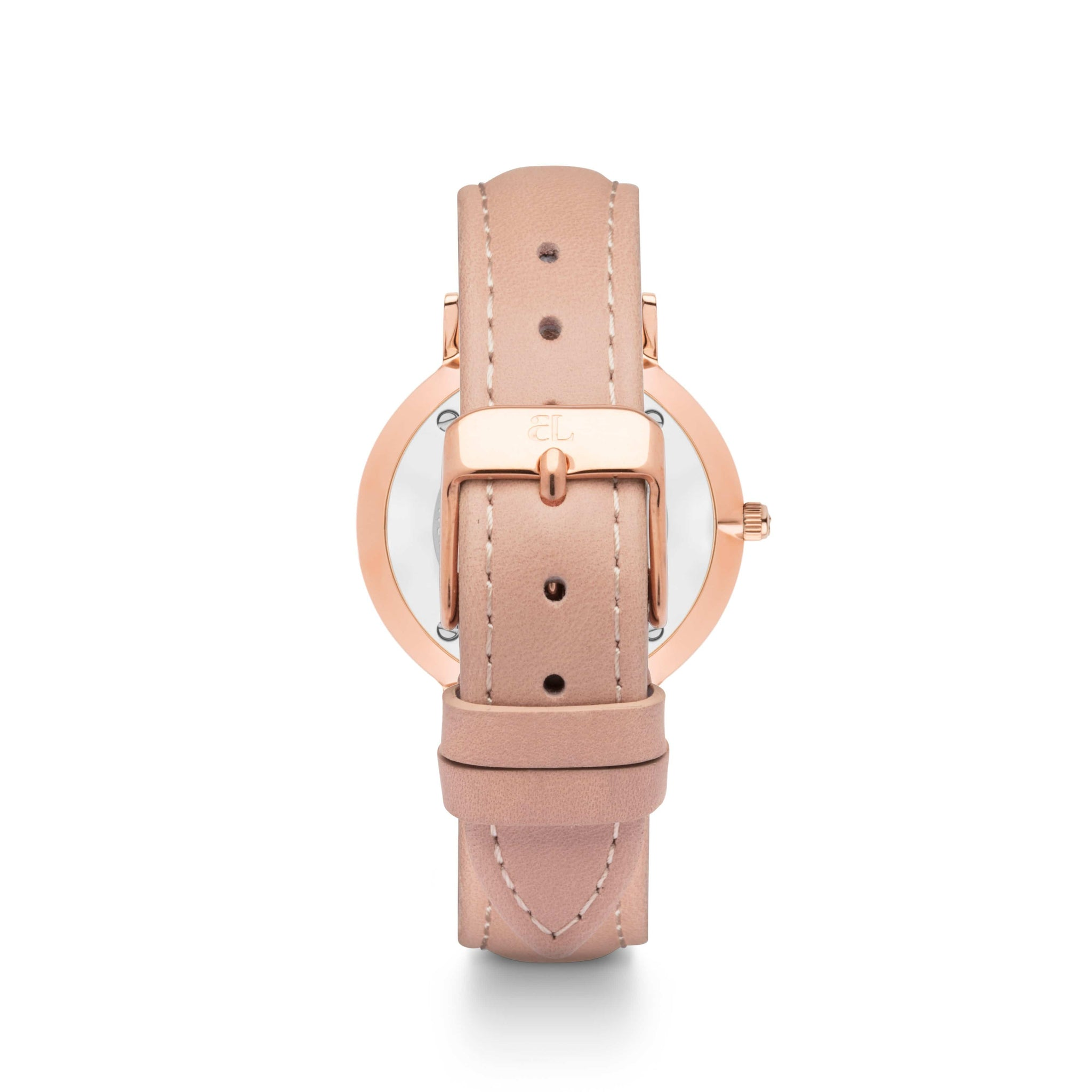 Nude Caramel Leather 34 Strap (Rose)