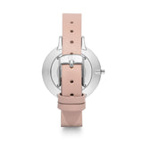 Nude Leather Minimale 38 (Silver/White)