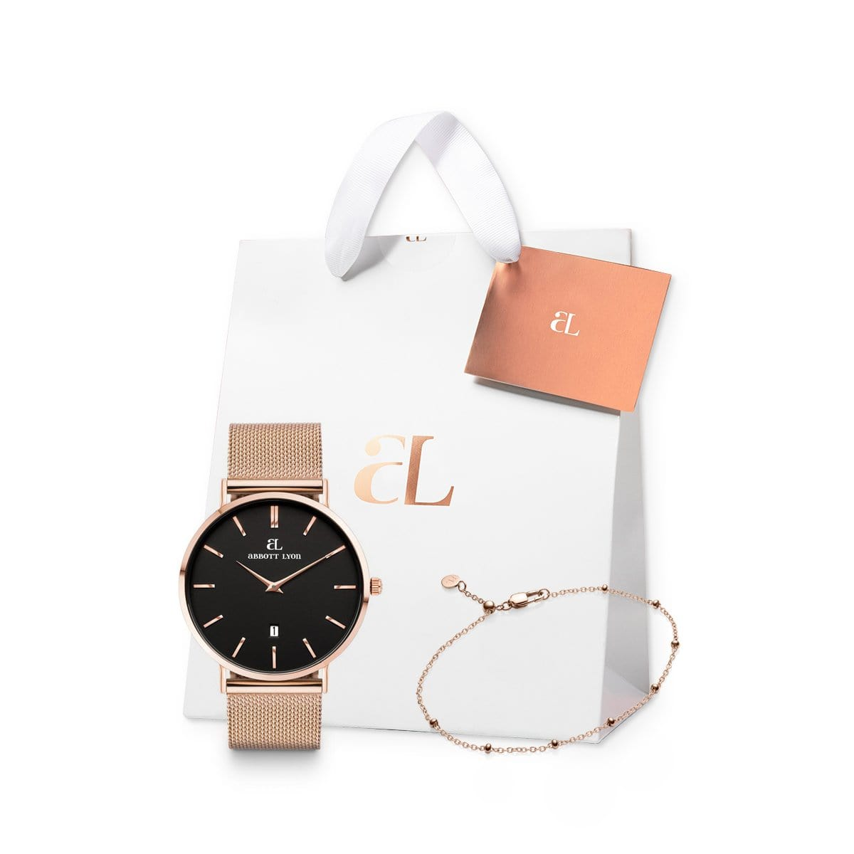 Rose Gold Chain Kensington 40 Sphere Gift Set