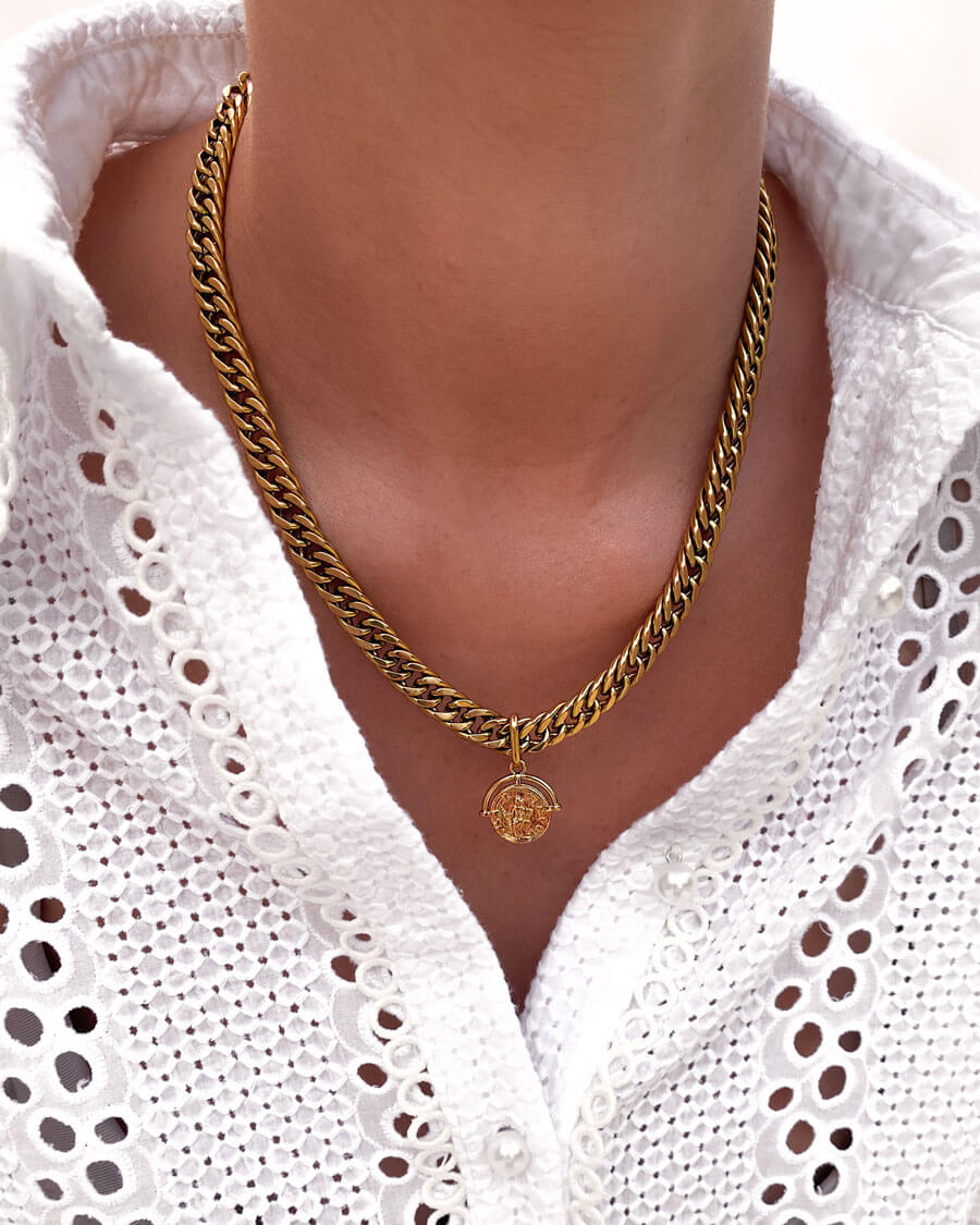 Coin Pendant (Gold)