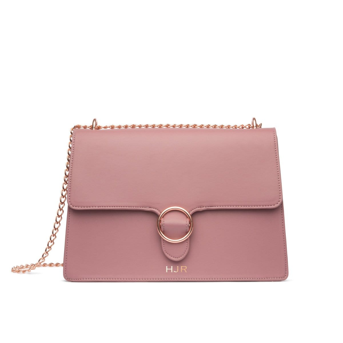 Mara Shoulder Bag (Mauve/Rose Gold)