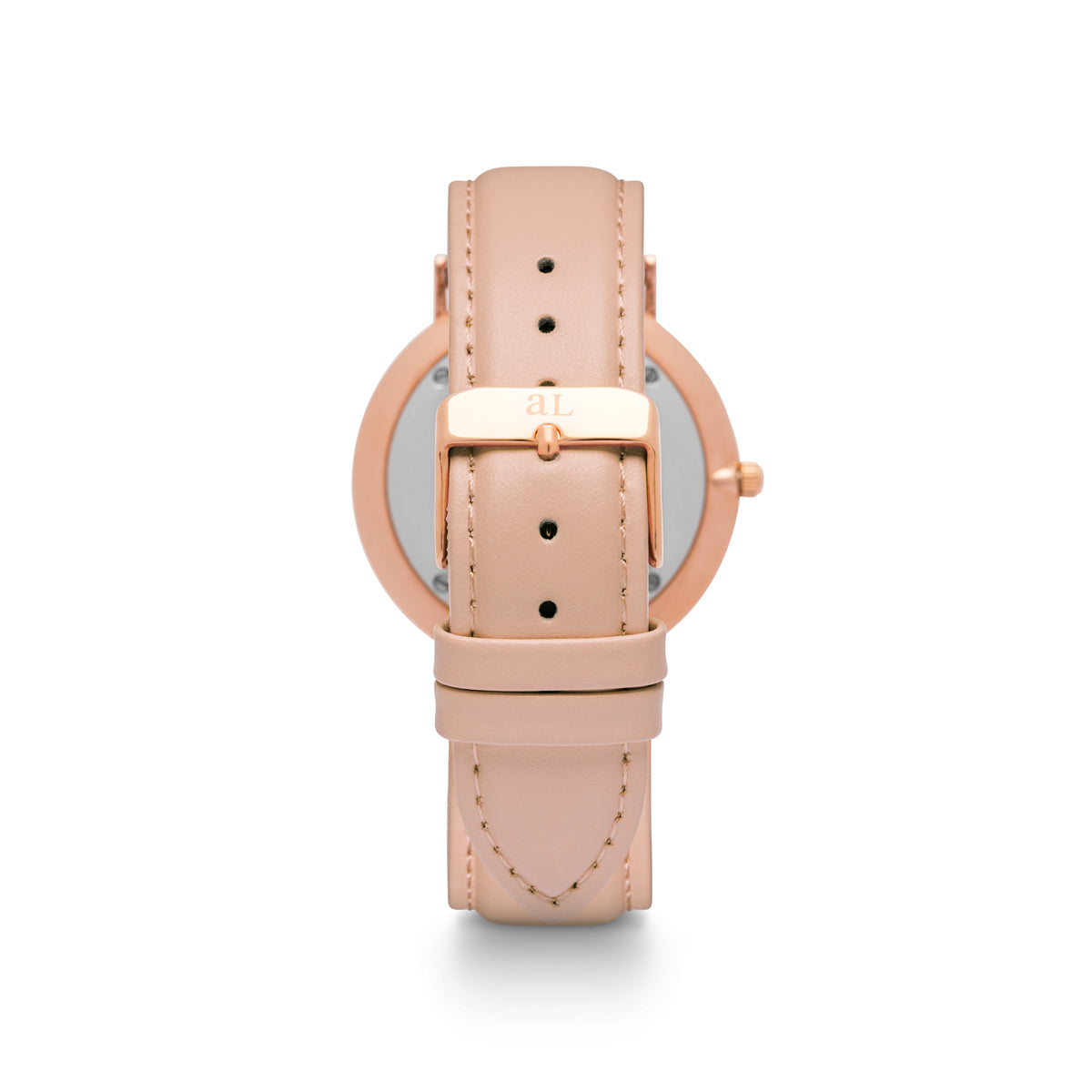 Blush Pink Strap White Kensington 36