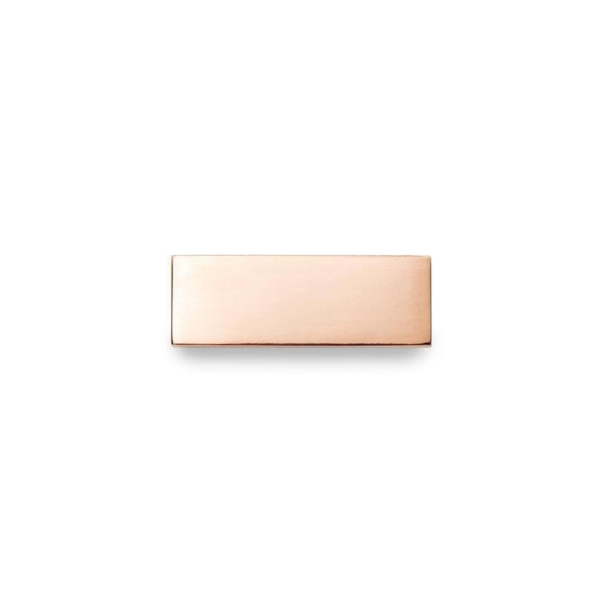 Rose Gold Nueva Engraving Bar