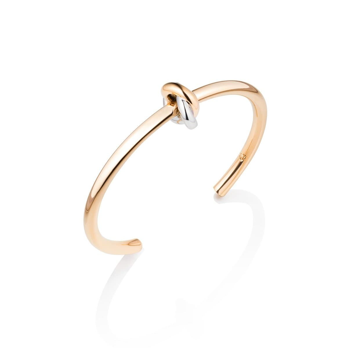 Knot Bangle (Gold/Silver)