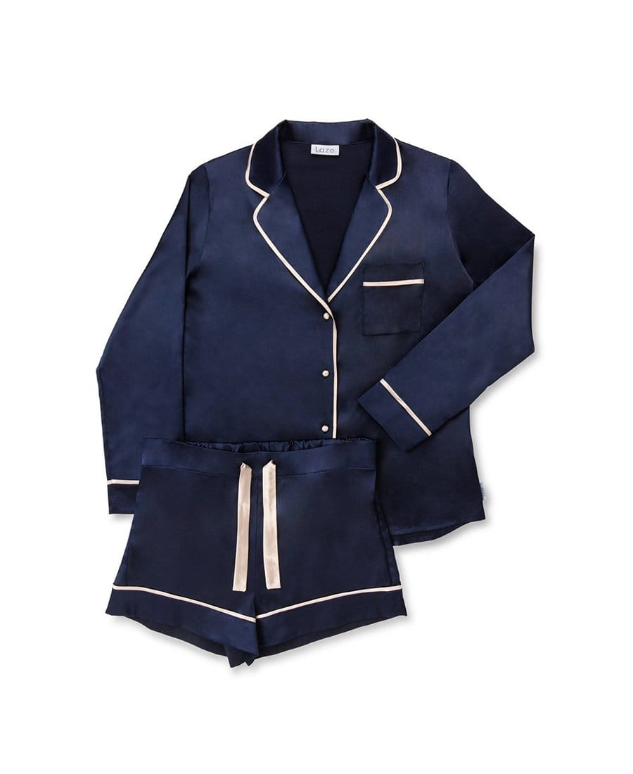 Hague Blue Short Pyjama Set