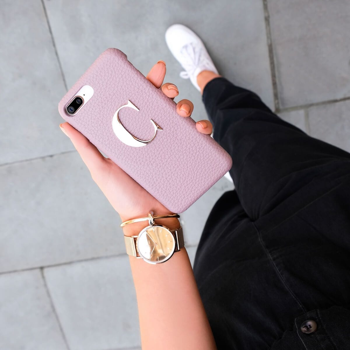 Mauve Pink Phone Case (iPhone XS Max)