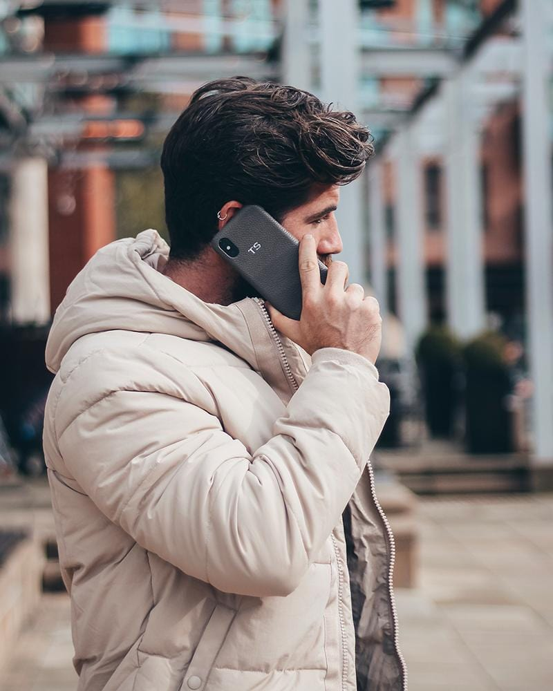 Men's Grey Phone Case (iPhone 6/6S/7/8)