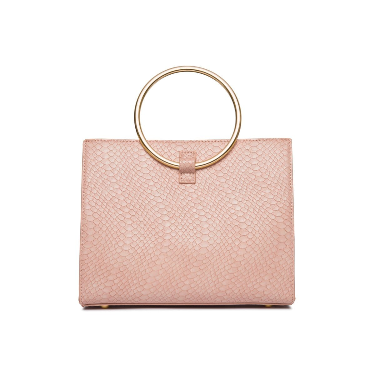 Carnation Pink Moda Handbag Yellow Gold
