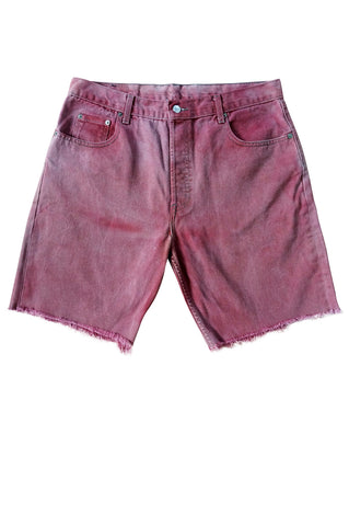 1990s Levi's Pink Denim Cut-Offs