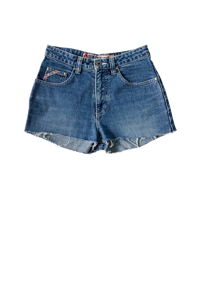 1990s B.U.M Equipment Denim Cut-Offs