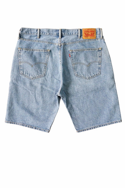 Levi's 505 Blue Denim Shorts