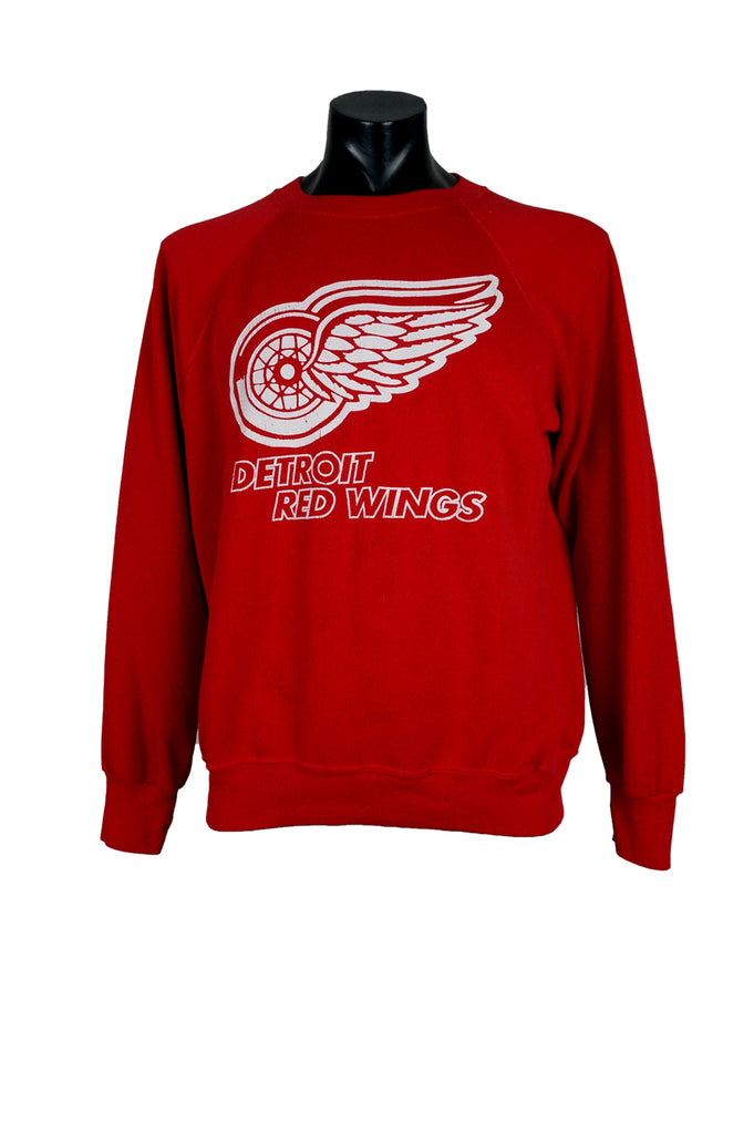 1980s Detroit Red Wings NHL Crewneck