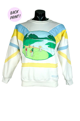 1980s Adidas The Hills Classic Golf Crewneck