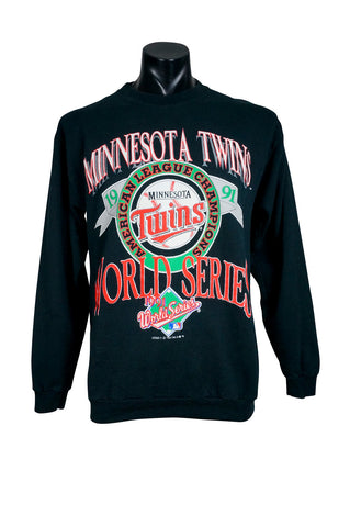 1991 Minnesota Twins World Series MLB Crewneck