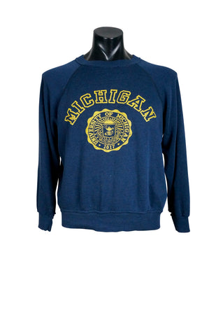 1980s University of Michigan Crewneck