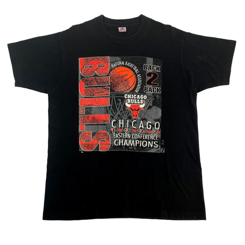 1992 Chicago Bulls Back 2 Back T-Shirt (XL)