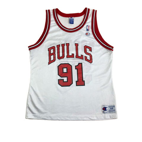 1993/4 Chicago Bulls Rodman Champion Jersey (L) (44)