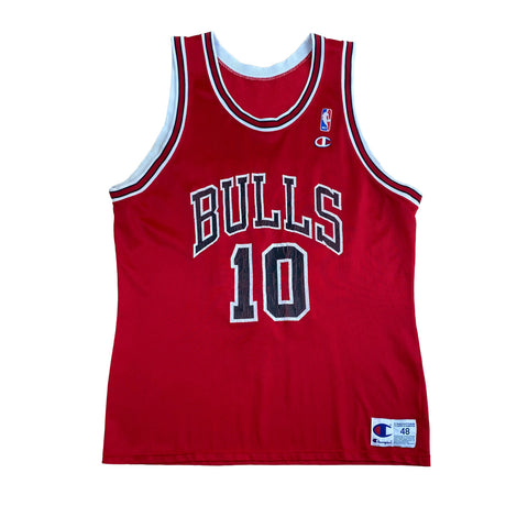 1994 BJ Armstrong Chicago Bulls Champion Jersey (48) (XL)