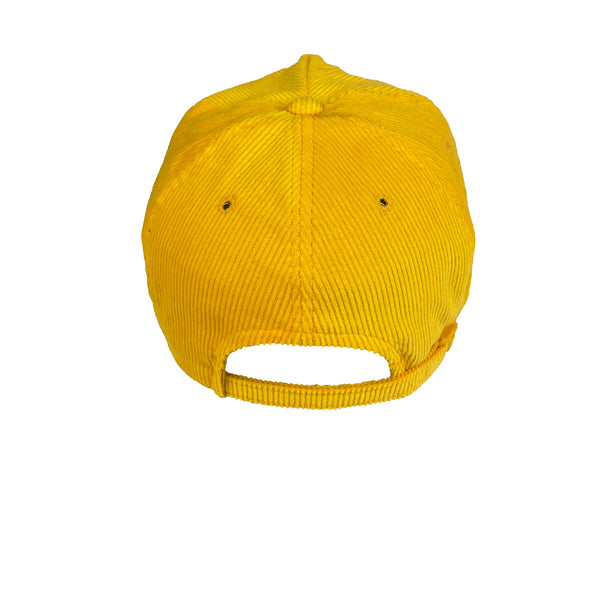 1980s Los Angeles Lakers Yellow Corduroy Hat